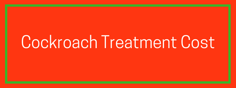 Cockroach Treatment Cost